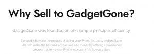 GadgetGone Why